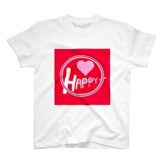 女性心をくすぐるかわいいロゴTシャツ T-shirts