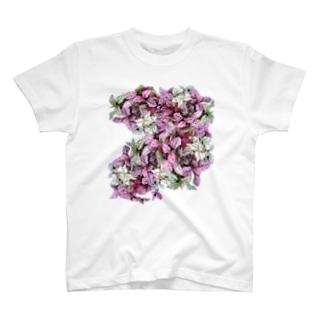 カラフル葉2 T-shirts
