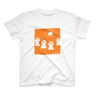おさんぽきのこ T-shirts