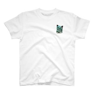にゃんだかにゃ(家鴨窯) T-shirts