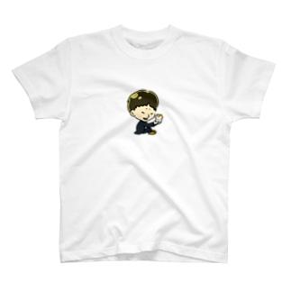 MIKIYAとふーた T-shirts