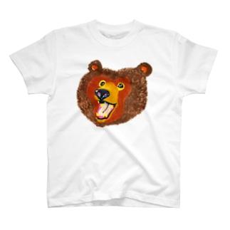渾身のクマさん T-shirts