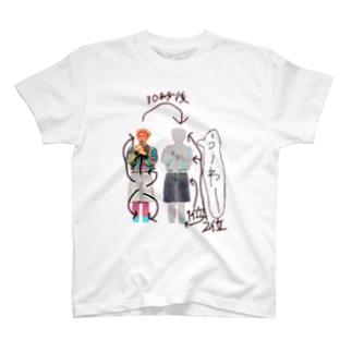 デニムのケミカルに下剋上されたりゅうちぇる 解説 T-shirts