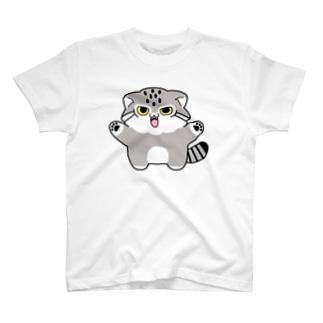 マヌルちゃんギャオー T-shirts