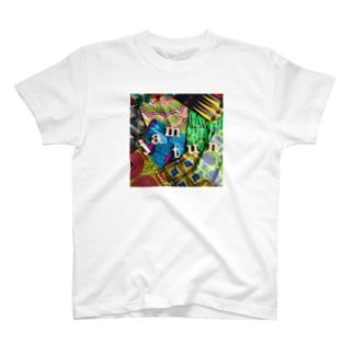 ジャムタン ランダム文字 T-shirts