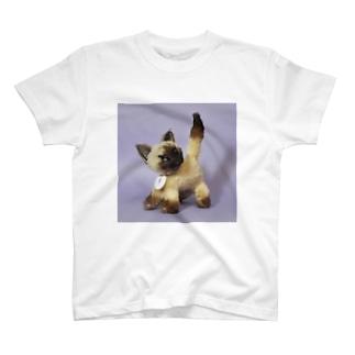 シャム猫さん T-shirts
