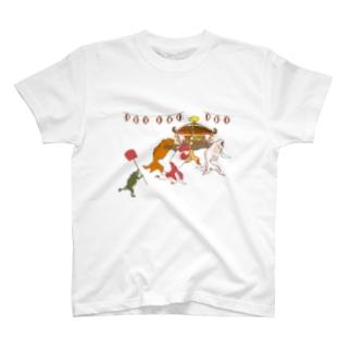 金魚づくし現代版 OMIKOSHI T-Shirt