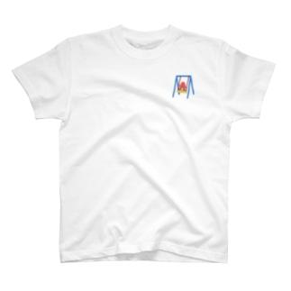 タコさんウインナー 公園に遊ぶ T-shirts