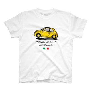 500 オーナー 黄色 フロント T-shirts