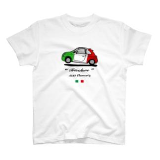 500 オーナー トリコローレ フロント T-shirts