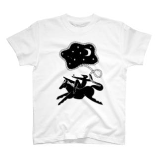 夜をつかまえる T-shirts