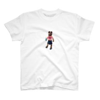 ジュースのむ?(ツカモトリカ) T-shirts