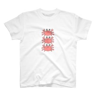 かにタワー T-shirts