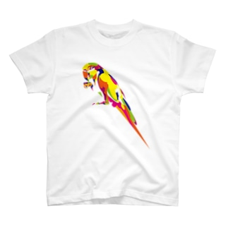 コンゴウインコ T-shirts
