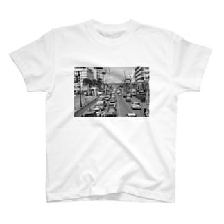 セブ島街並みTシャツ T-shirts