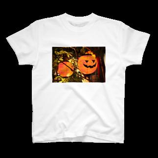 kawaii-keiのおばけ提灯👻 T-shirts