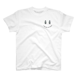 コロナワクチン接種済みスマイル T-Shirt