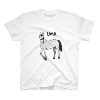 芦毛くん T-shirts