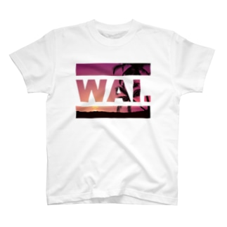 WAIT (ハワイアン) T-shirts