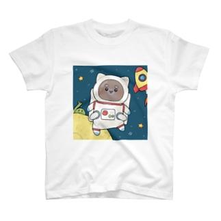 宇宙飛行士ぽちさん T-shirts