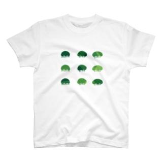 梅くらげの森 梅くらげ T-shirts