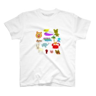 アニマルランド T-shirts