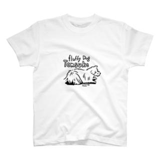 (保護犬支援)Fluufy Dog T-Shirt