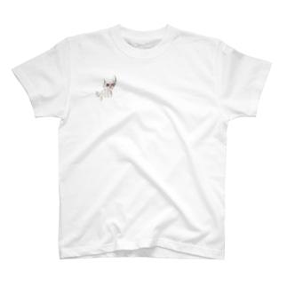 かっこいい黒猫 T-shirts