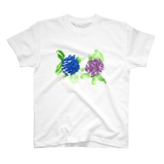ふたごのあじさい T-Shirt