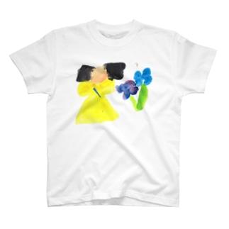 きいろいおんなのこ T-Shirt