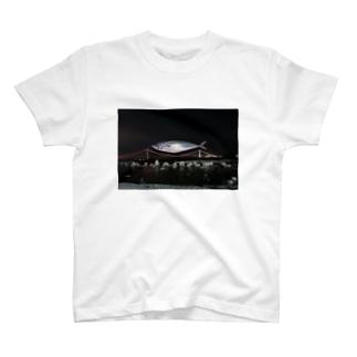 夜空に浮かぶ鯖 T-shirts
