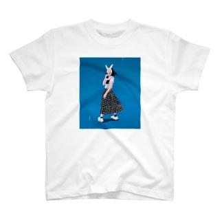 blue girl T-shirts