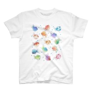まんまるきんぎょ T-shirts