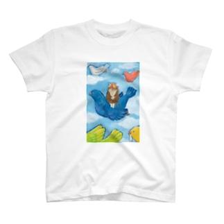 わたしの青い鳥 T-shirts