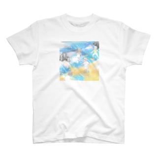 山田萌の「世界経済」 T-shirts