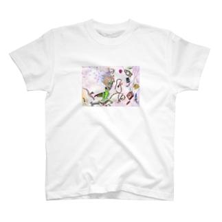 金銀太陽月の詩 T-shirts