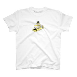 駆け抜けてくよTシャツ T-shirts