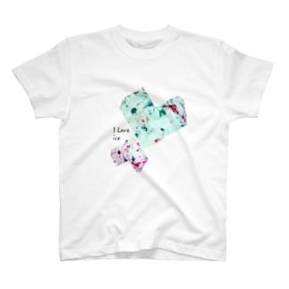 i love ice T-shirts