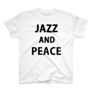 JAZZ & PEACE Tシャツ T-shirts