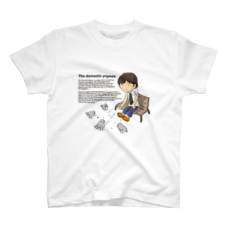 飼い慣らされた鳩 T-shirts