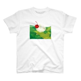 メロンソーダ リサイズ T-shirts