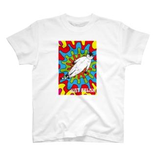 まぁリラックスしようぜ!ヨガ猫 サイケ 宇宙 yogaねこ Tシャツ T-shirts