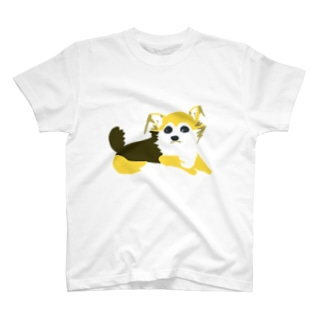 わんこの茶色ちゃん2(古屋智子) T-shirts