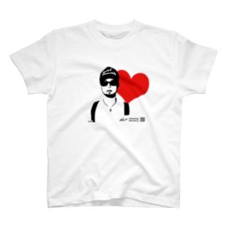 Kikunaga Love T-shirt 復刻版 T-shirts