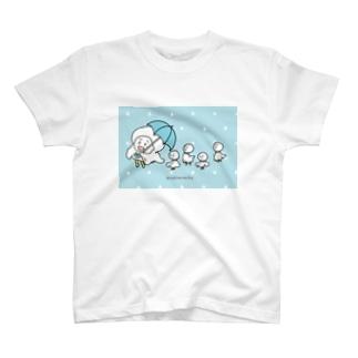 雨ふりパンた T-shirts
