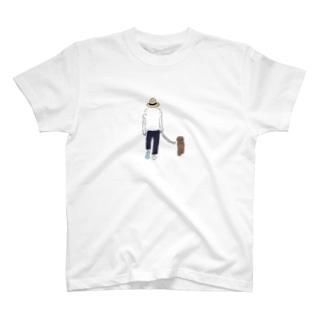 momoewokakuの散歩 T-Shirt