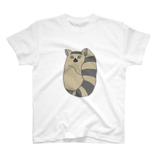 ワオッ!!ワオキツネザル T-shirts