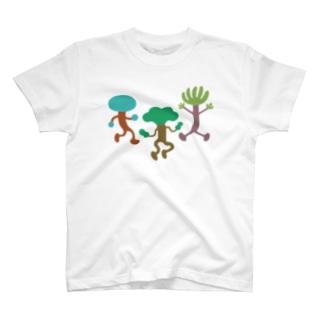 おどる木 T-shirts