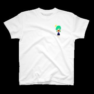 九十九さん@本舗の女子バスケ部の女の子 T-shirts