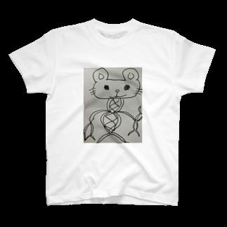うめづ じゅんの共同不法行為猫 T-shirts
